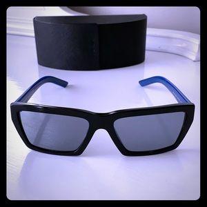 Prada Black & Blue Sunglasses